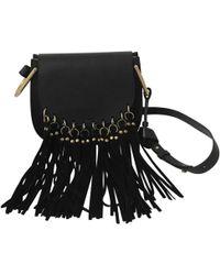 Chloé - Pre-owned Hudson Leather Crossbody Bag - Lyst