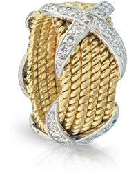 Tiffany & Co. - Schlumberger Yellow Yellow Gold Ring - Lyst