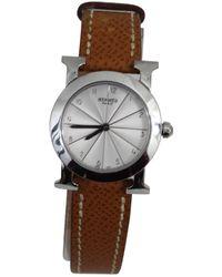 Hermès - Heure H Pm Watch - Lyst