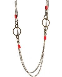 Isabel Marant - Pre-owned Long Necklace - Lyst