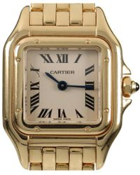 Cartier - Panthère White Yellow Gold - Lyst