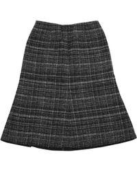 Marc Jacobs - Jupe mi-longue en laine - Lyst