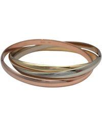 Cartier - Trinity Pink Gold Bracelet - Lyst