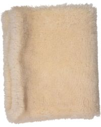 Céline - Pre-owned Shearling Gloves - Lyst