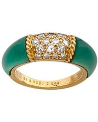Van Cleef & Arpels - Yellow Gold Ring - Lyst