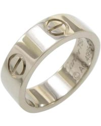 Cartier | Love White Gold Ring | Lyst