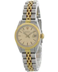 Rolex - Lady Oyster Perpetual 26mm Other Gold And Steel - Lyst