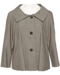 Marni - Pre-owned Brown Wool Jackets - Lyst
