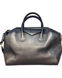 Givenchy - Pre-owned Antigona Leather Handbag - Lyst