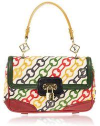 Louis Vuitton - Pre-owned Cloth Clutch Bag - Lyst
