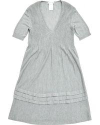 Céline - Pre-owned Cashmere Mid-length Dress - Lyst