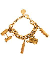 Stella McCartney - Pre-owned Gold Metal Bracelet - Lyst