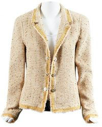 Chanel - Pre-owned Wool Jacket - Lyst