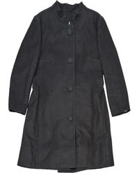 Chloé - Anthracite Silk Coat - Lyst