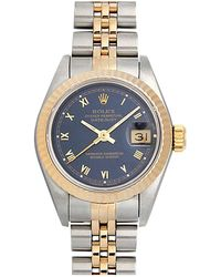 Rolex - Pre-owned Datejust Lady Watch - Lyst