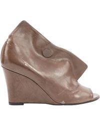 Maison Margiela - Other Leather Heels - Lyst
