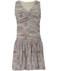 Lyst - Mini robe en soie Iro en coloris Rose 1e0c4a9bc528