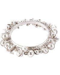 Chanel - Pre-owned Silver Metal Bracelets - Lyst