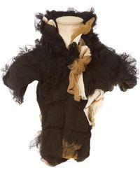 Comme des Garçons - Pre-owned Vintage Black Synthetic Scarves - Lyst