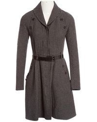 Dior - Pre-owned Multicolour Wool Coats - Lyst