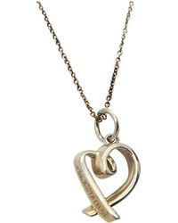 Tiffany & Co. - Paloma Picasso Silver Necklace - Lyst
