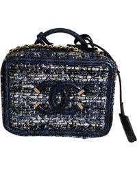 Chanel - Vanity Tweed Handbag - Lyst
