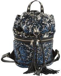 Sonia Rykiel - Blue Leather Backpacks - Lyst