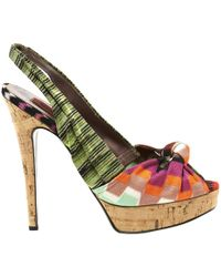 Pre-owned - Cloth sandals Missoni blIrrz2