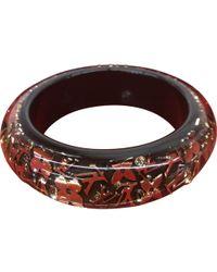 Louis Vuitton - Inclusion Brown Plastic Bracelets - Lyst