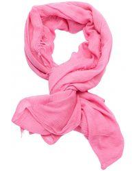 Étoile Isabel Marant - Pink Silk Scarf - Lyst