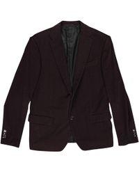 e1d5e4f6f97 Lyst - Veste en coton jacquard GG Gucci pour homme en coloris Marron