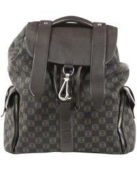 Loewe Backpack Brown Cloth Backpack
