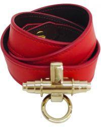 Givenchy - Obsedia Leather Bracelet - Lyst
