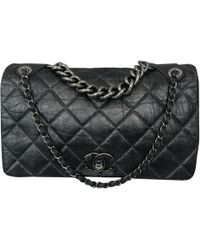 Chanel - Timeless classique Leather Crossbody Bag - Lyst 13e8b85dd5e9d