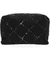 Chanel - Pre-owned Cloth Vanity Case - Lyst