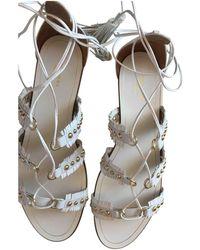 Aquazzura - Leather Sandals - Lyst