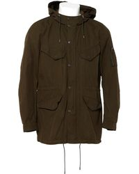 The Kooples - Pre-owned Khaki Cotton Coat - Lyst