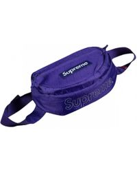 Supreme - Purple Synthetic Bag - Lyst