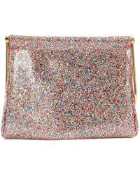 Charlotte Olympia - Glitter Clutch Bag - Lyst