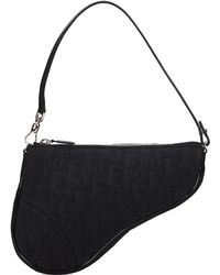 Dior - Pre-owned Saddle Cloth Handbag - Lyst