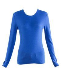 Michael Kors - Blue Cashmere Knitwear - Lyst