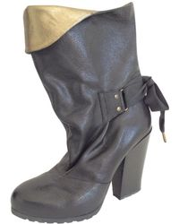 Vanessa Bruno - Pre-owned Leather Boots - Lyst