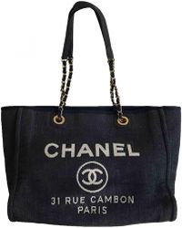 Chanel - Deauville Tote - Lyst