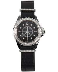 Chanel - J12 Quartz Black Other Watches - Lyst