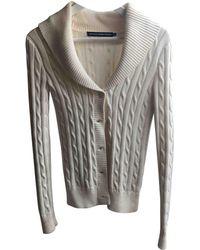 Polo Ralph Lauren - Ecru Cotton Knitwear - Lyst
