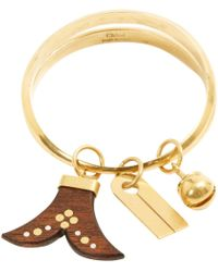 Chloé - Pre-owned Gold Metal Bracelet - Lyst