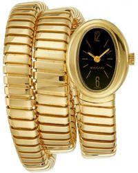BVLGARI - Vintage Serpenti Gold Yellow Gold Watches - Lyst