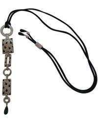 Cartier - Panthère White Gold Necklace - Lyst