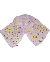 Christian Lacroix - Pre-owned Vintage Purple Silk Scarves - Lyst