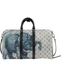 Louis Vuitton - White Cloth Bag - Lyst